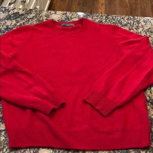 Old Navy 100% Cashmere Red Men's sweater large